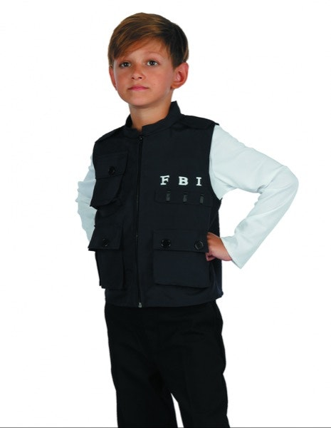Colete FBI Party Fiesta, 16,98€