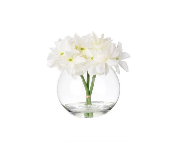 Flores e vaso Continente, 7€