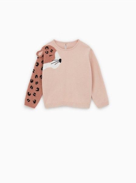 Camisola leopardo Zara, 17,95€