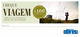 Cheque Viagem, Agência Abreu, 100€
