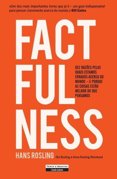 Factfulness de Hans Rosling, editado pelo Círculo de Leitores, 17,70€