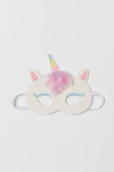 Máscara unicórnio H&M, 3,99€