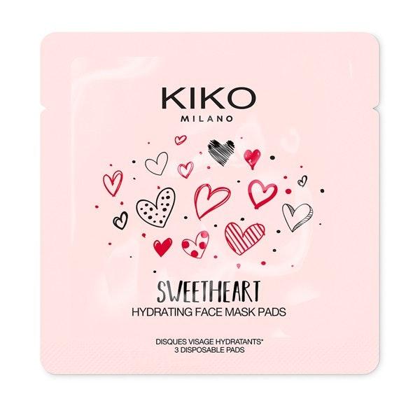 Discos para rosto hidratantes em forma de coração, 2,95€