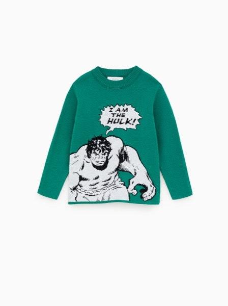 Camisola Hulk Zara, 15,95€